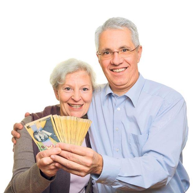 cuplu cu bani la pensie